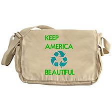KEEP AMERICA BEAUTIFUL Messenger Bag