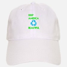 KEEP AMERICA BEAUTIFUL Baseball Baseball Cap