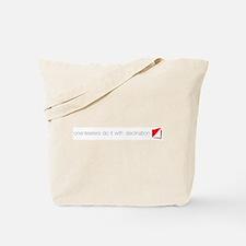 Declination Tote Bag