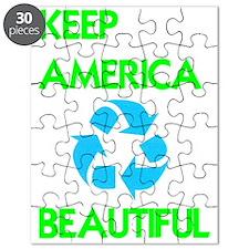 KEEP AMERICA BEAUTIFUL Puzzle