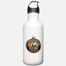 USN Navy Seabees Eagle Water Bottle