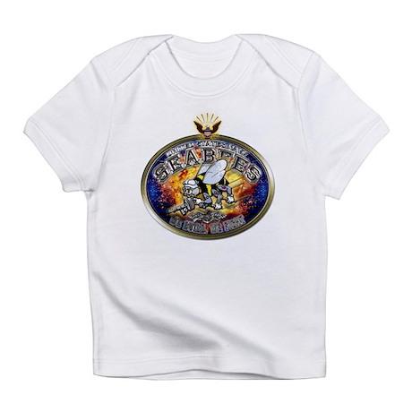 USN Navy Seabees Eagle Infant T-Shirt