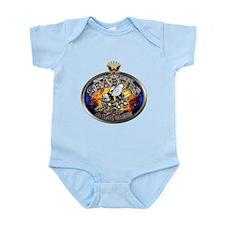 USN Navy Seabees Eagle Infant Bodysuit