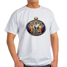 USN Navy Seabees Eagle T-Shirt