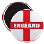 """England Flag 2.25"""" Magnet (100 pack)"""