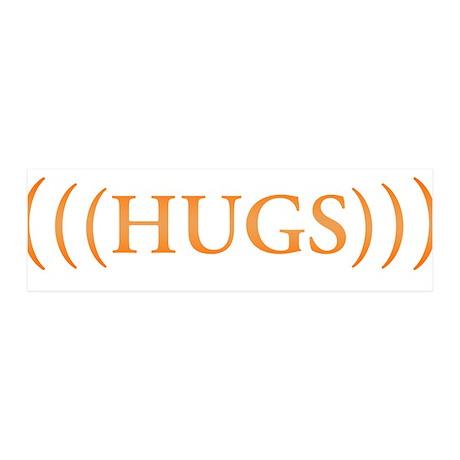 (((HUGS))) 42x14 Wall Peel