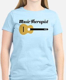 Music Therapist With Guitar T-Shirt