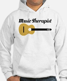 Music Therapist With Guitar Hoodie