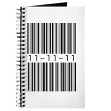 Bar Code 11-11-11 Journal