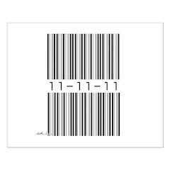 Bar Code 11-11-11 Posters