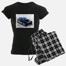 Black POW Classic Car Pajamas