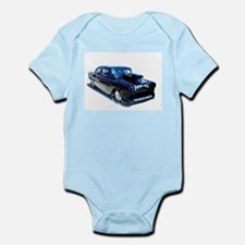 Black POW Classic Car Infant Bodysuit