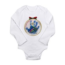 Christmas Angel Tree 2011 Long Sleeve Infant Bodys