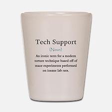 Tech Support Shot Glass