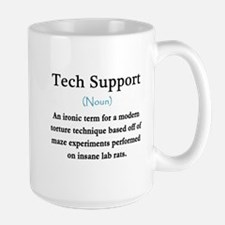 Tech Support Ceramic Mugs