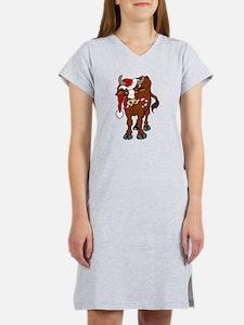 Christmas Cow Nightshirt