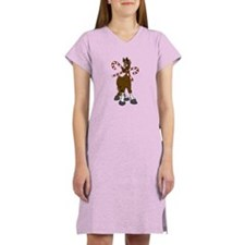 Candy Canes Horse Nightshirt