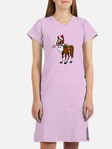 Santa Hat Horse Nightshirt