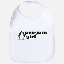 Penguin girl Bib
