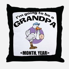 Grandpa To Be Personalized Throw Pillow