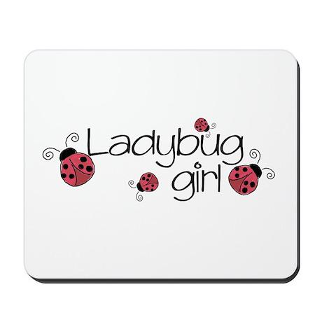 Ladybug girl Mousepad