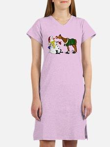 Snowman & Horse Nightshirt