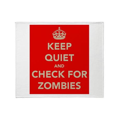 Keep Quiet.... Throw Blanket