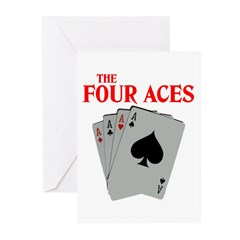 THE FOUR ACES™ Greeting Cards (Pk of 10)