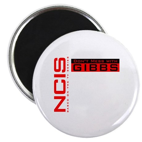 "NCIS Don't Mess with Gibbs 2.25"" Magnet (10 pack)"
