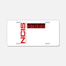 NCIS Don't Mess with Gibbs Aluminum License Plate