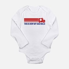 EMT Paramedic Dad Long Sleeve Infant Bodysuit