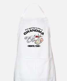 Funny Grandma To Be Personalized Apron