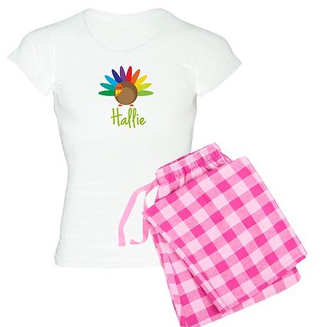 Hallie the Turkey Women's Light Pajamas