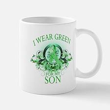 I Wear Green for my Son (flor Mug