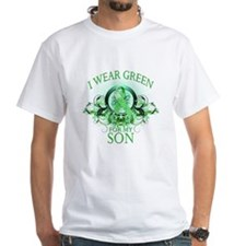 I Wear Green for my Son (flor Shirt