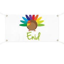 Enid the Turkey Banner