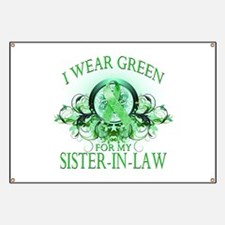 I Wear Green for my Sister In Banner