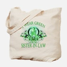 I Wear Green for my Sister In Tote Bag