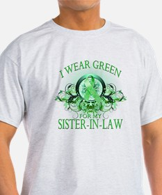 I Wear Green for my Sister In T-Shirt
