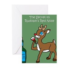 Holiday Humor with Wine Cards (Pk of 10)
