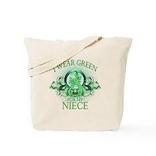 I Wear Green for my Niece (fl Tote Bag