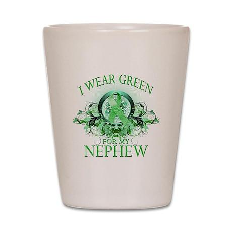 I Wear Green for my Nephew (f Shot Glass