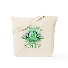 I Wear Green for my Nephew (f Tote Bag