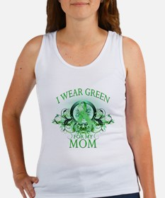 I Wear Green for my Mom (flor Women's Tank Top