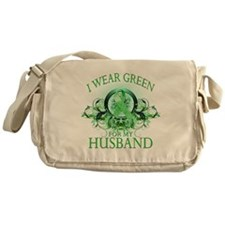 I Wear Green for my Husband ( Messenger Bag