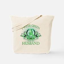 I Wear Green for my Husband ( Tote Bag