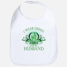 I Wear Green for my Husband ( Bib