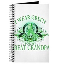 I Wear Green for my Great Gra Journal