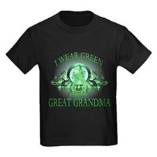 I Wear Green for my Great Gra T