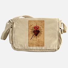 Sacred Heart of Jesus Messenger Bag